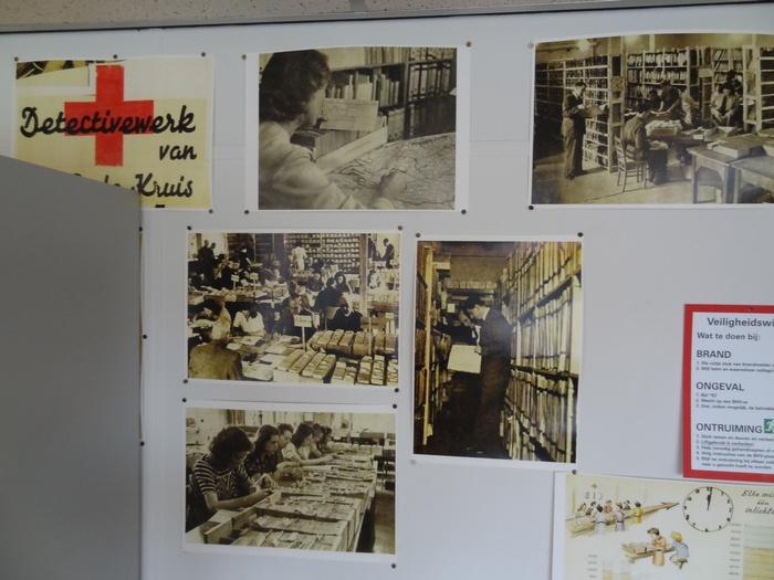 Onderzoek in het Rode Kruis Archief