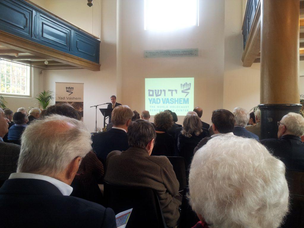 Verslag symposium 25 jarig Vrienden van Yad Vashem